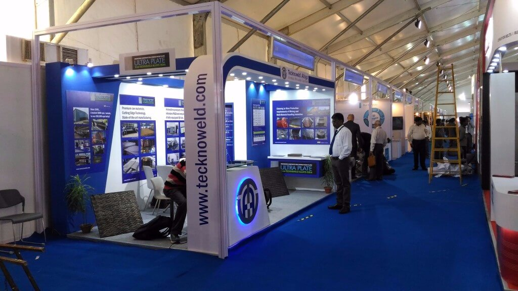 Exhibition stall fabrication 11